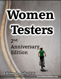 Womentesters Coverpage